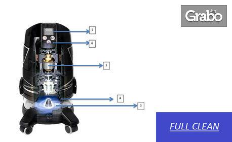 Изтупване и пране с почистваща система Robot Platinum на единичен матрак, едностранно
