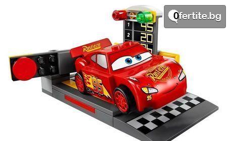 """Конструктор """"Speeding car McQueen"""" с функция за изстрелване"""