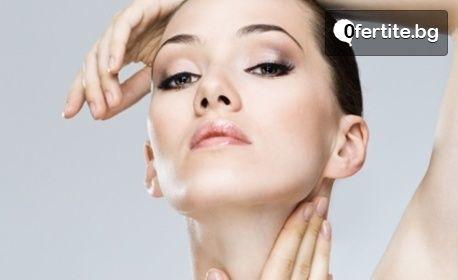 Мануално почистване на лице, плюс оформяне на вежди
