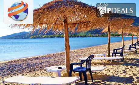 През Септември на полуостров Халкидики! 7 нощувки със закуски и вечери в хотел Rihios в Ставрос