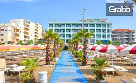 изображение за оферта Почивка в Албания! 7 нощувки със закуски и вечери в хотел 4* в Дуръс, плюс транспорт, от ВИП Турс