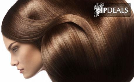 Измиване на коса, подстригване и оформяне