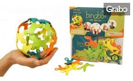 Детски конструктор от биопластмаса Binabo с 24 части