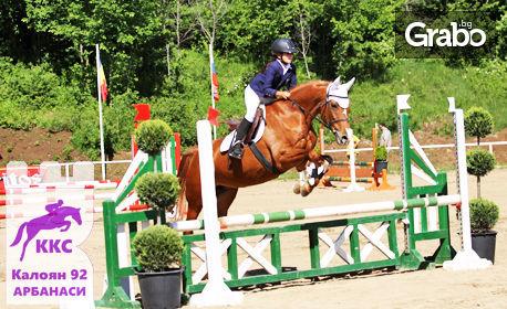 Забавления край Арбанаси! Урок по конна езда за начинаещи или разходка с кон за напреднали