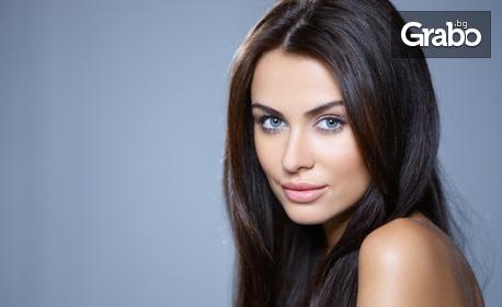 Почистване на лице с ултразвукова шпатула, плюс диамантено микродермабразио или радиочестотен лифтинг