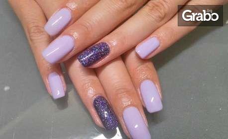 IBX лечебна терапия за укрепване на нокти или маникюр с гел лак