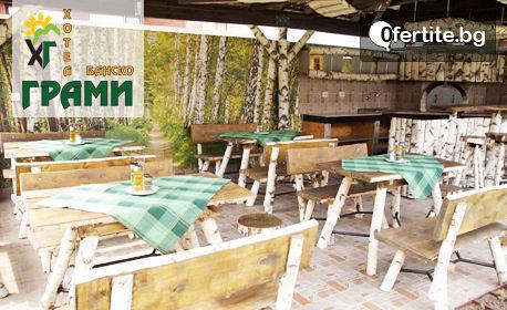 Януари, Февруари и Март в Банско! Нощувка със закуска, плюс басейн и релакс зона