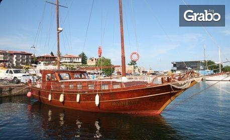 Разходка с ветроходна яхта край Несебър