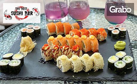 Суши сет с 38 хапки - за вкъщи