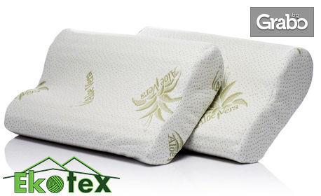 2 анатомични възглавници Sleepmode Aloe Vera Deep Relax