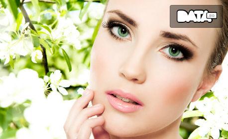 Дълбоко почистване на лице с ултразвук или диамантено микродермабразио, плюс кислородна терапия и RF лифтинг