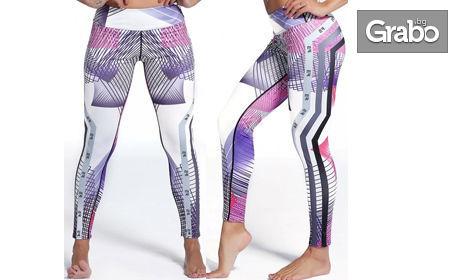 Дамски спортен клин с push-up ефект, в размер и дизайн по избор
