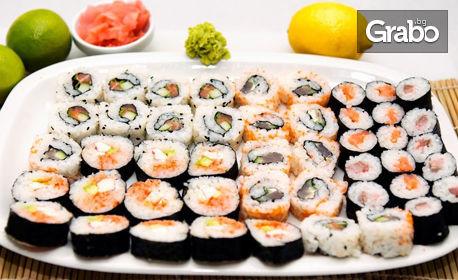Суши сет с 30, 58 или 86 хапки