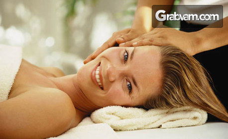 40 минути лечебен масаж на гръб, раменен пояс, кръст и ръце, плюс тракция на глава