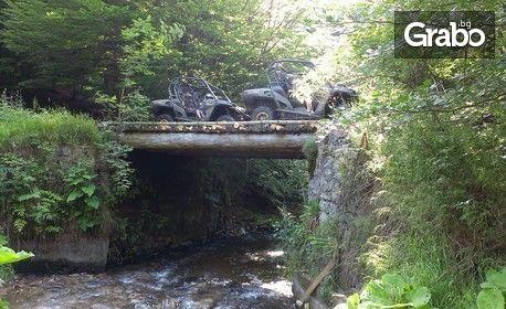 1 час разходка с бъги сред полите на Родопите - край Пещера, плюс вход за Музея на автомобилите на социализма