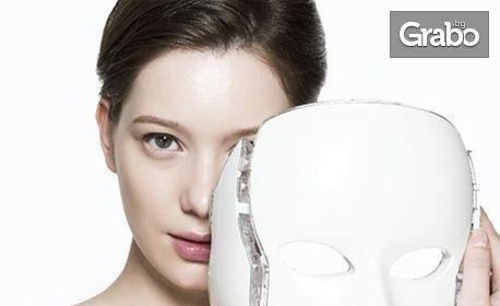 Грижа за лице! Лифтинг масаж и маска, кислородна мезотерапия или тиквена терапия