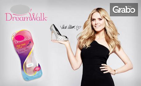 Ежедневни стелки за дамски обувки с ултра мека гел технология DreamWalk