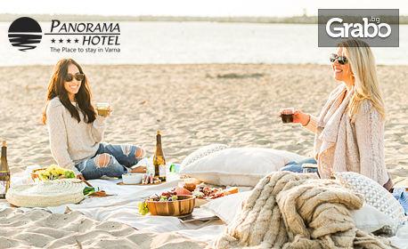 Пролетен пикник на плажа във Варна! Кафе с мекички, палачинки или бутхи, или бира плюс сиренца или пържени картофки