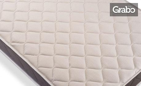 Двулицев ортопедичен матрак Aloe Vera 2 Shades of Gray в размер по избор, и бонус - възглавница
