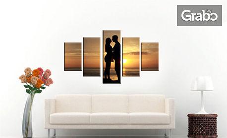 Красиво арт пано с ваша любима снимка в 1, 3 или 5 части