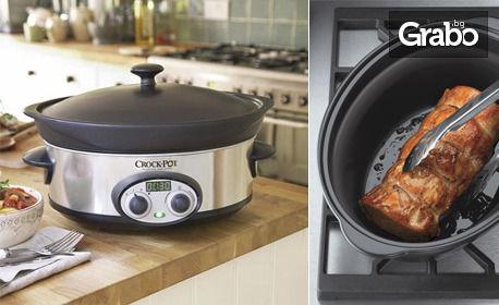 Уред за готвене Crock-Pot соте (5.7л)