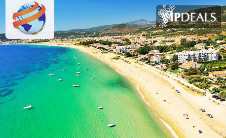 На плаж в Гърция! Еднодневна екскурзия до Неа Ираклица, с нощен преход