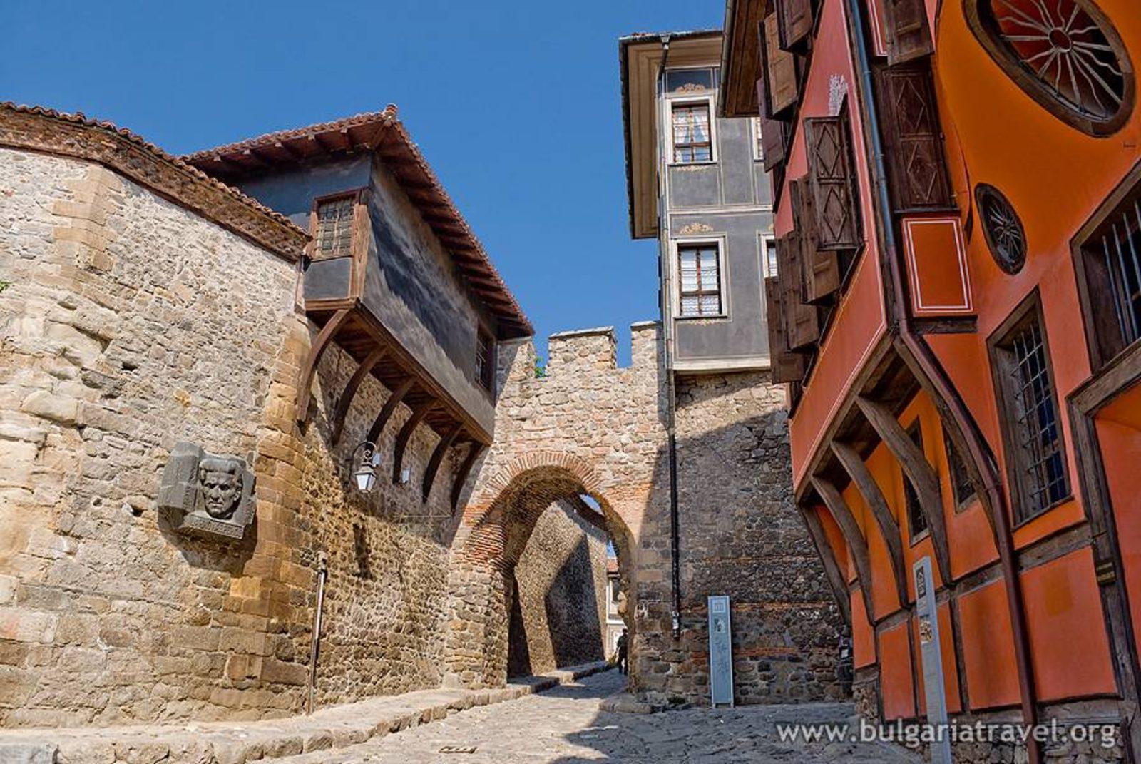 Znalezione obrazy dla zapytania стария град пловдив забележителности