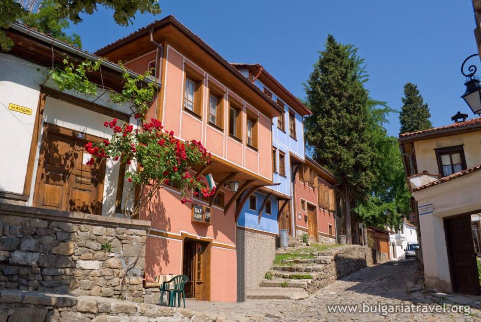 Znalezione obrazy dla zapytania plovdiv bulgaria old town