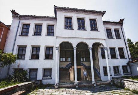 Резултат с изображение за къща Стамболян Старият град Пловдив