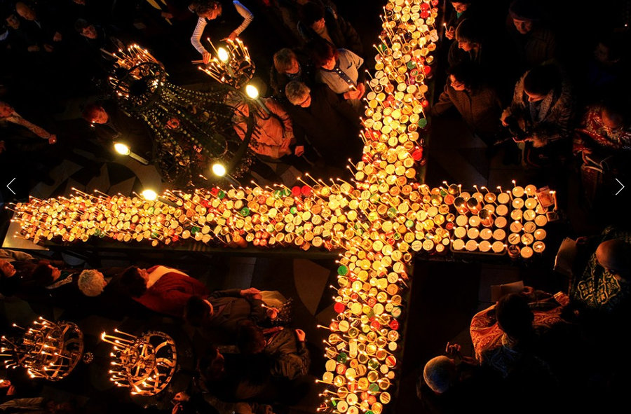 Ritual de la bendición de la miel. San Jaralampi